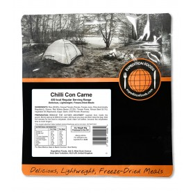 Repas lyophilisés Ravitail CHILI CON CARNE EXPEDITION FOODS. 450 Kcal.-SANS GLUTEN-EXPEDITION FOODS-004-0242-7,90€