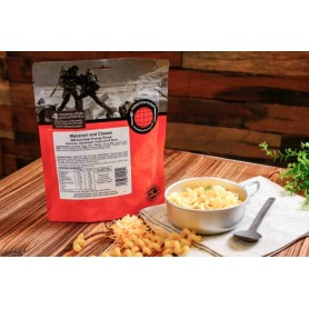 Repas lyophilisés Ravitail MACARONI AU FROMAGE EXPEDITION FOODS. 450 Kcal.-VÉGÉTARIEN-EXPEDITION FOODS-004-0263-7,90 €