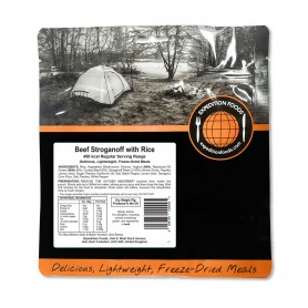 BOEUF STROGANOFF AU RIZ 450 Kcal. EXPEDITION FOODS.-SANS GLUTEN-EXPEDITION FOODS-004-0257-7,90 €