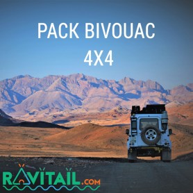 Repas lyophilisés Ravitail PACK BIVOUAC 4X4-PACKS OUTDOOR-RAVITAIL FOOD PACK-PACK BIVOUAC-37,26 €