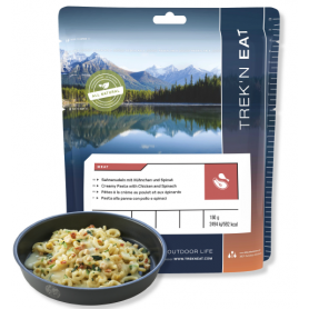 POULET A LA CREME PATES ÉPINARDS TREK'N EAT 641 Kcal-REPAS-TREK'N EAT--6,95 €