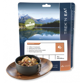 MUESLI BLÉ COMPLET FRUITS TREK'N'EAT 569 Kcal-PETITS DEJ-TREK'N EAT--4,95 €
