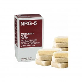 packs outdoor et survie Ravitail NRG-5 Ration Alimentaire d'Urgence MSI 2300Kcal MSI