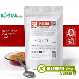 Repas lyophilisés Ravitail RAGOUT DE CAROTTES EF EMERGENCY FOOD-RATIONS D'URGENCE-EF EMERGENCY FOOD--4,50 €