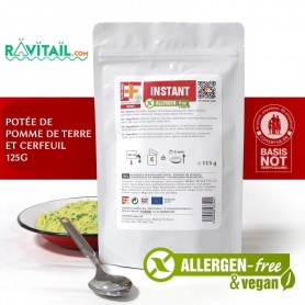 POTÉE POMMES DE TERRE CERFEUIL EF EMERGENCY FOOD EF EMERGENCY FOOD