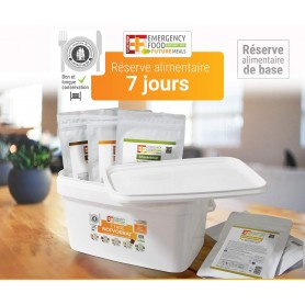 Repas lyophilisés Ravitail PACK SURVIE EF EMERGENCY FOOD FLEX12 repas+5 barres-RATIONS D'URGENCE-EF EMERGENCY FOOD-EF-7DB-AF-...