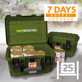 PACK SURVIE EF EMERGENCY FOOD PROTECTOR 7 JOURS/18 repas EF EMERGENCY FOOD