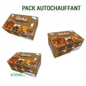 Repas lyophilisés Ravitail PACK AUTOCHAUFFANT-PACKS OUTDOOR-RAVITAIL FOOD PACK--47,21 €