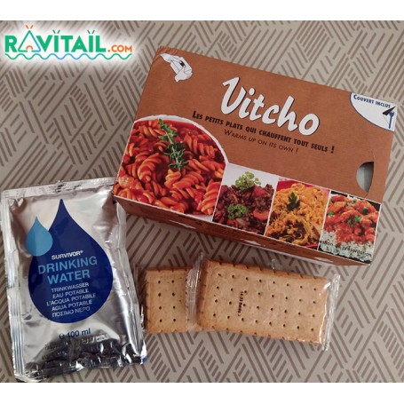 Repas lyophilisés Ravitail PACK ROUTIERS VITCHO DINDE RIZ CURRY-PACKS OUTDOOR-VOYAGER--9,95 €